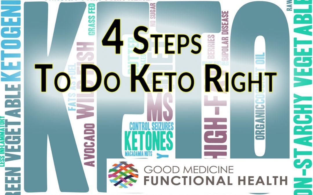 Doing Keto Right